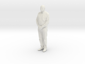 Printle C Homme 537 - 1/24 - wob in White Natural Versatile Plastic