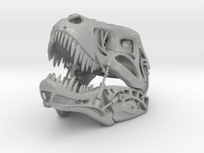 Non-scale Robotic T-Rex Skull in Aluminum
