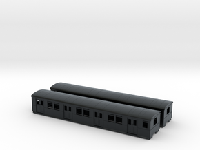 DR ET/EB 165 beiwagen  N [2x body] in Black Hi-Def Acrylate