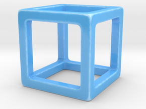 CUBY Simple Organizer in Gloss Blue Porcelain