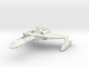 Klingon D6 Class B Refit  HvyCruiser in White Natural Versatile Plastic