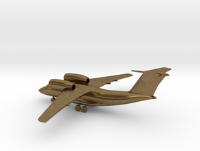 Antonov An-74 Coaler in Natural Bronze: 1:285 - 6mm