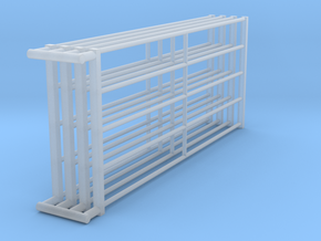 1/64 10ft Freestall barn Gates  in Smooth Fine Detail Plastic