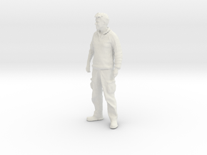 Printle C Homme 607 - 1/24 - wob in White Natural Versatile Plastic