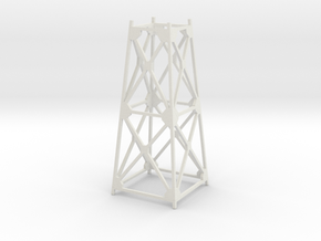 Trestle - 40foot - Zscale in White Natural Versatile Plastic