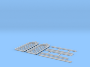 NGG-BVH01c - Large modular train station in Smooth Fine Detail Plastic
