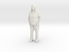 Printle C Femme 116 - 1/43 - wob in White Natural Versatile Plastic