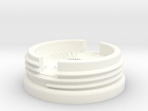 Virb Low Profile K-Edge Combo Mount Interface in White Processed Versatile Plastic