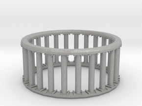 Greek/Roman Pillar Ring in Aluminum