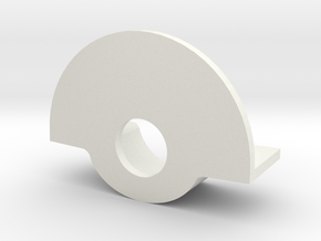 Traxxas Stampede Rear Washer in White Natural Versatile Plastic