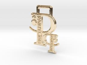 Creator Keychain in 14K Yellow Gold