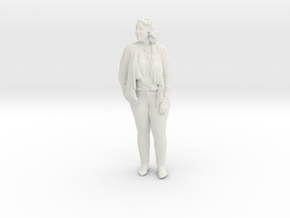 Printle C Femme 134 - 1/43 - wob in White Natural Versatile Plastic