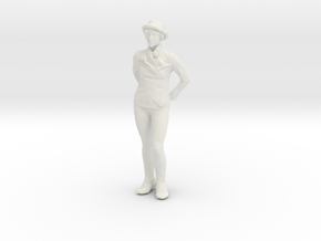 Printle C Femme 151 - 1/43 - wob in White Strong & Flexible