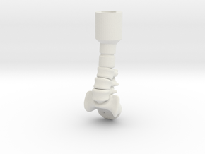 Lego Spine in White Natural Versatile Plastic