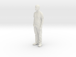 Printle C Homme 028 - 1/56 - wob in White Natural Versatile Plastic