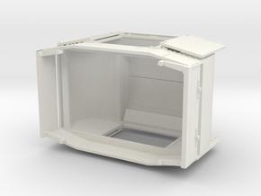 B-1-48-protected-simplex-both-doors-open in White Natural Versatile Plastic