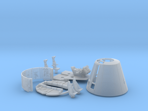 YT1300 FM 1/72 COMBO CONE SHORT COCKPIT WALLS in Smooth Fine Detail Plastic