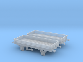 Colwick open wagon in Smoothest Fine Detail Plastic