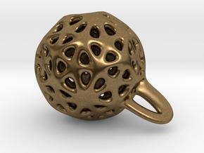 P-funny jewel in Natural Bronze