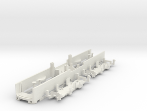 TT Gauge BR150 E50 Sprue 2 - Frame in White Strong & Flexible