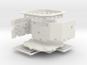 Single Pit With Topper for DeAgo Falcon in White Natural Versatile Plastic