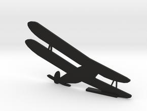 Door Biplane in Black Natural Versatile Plastic