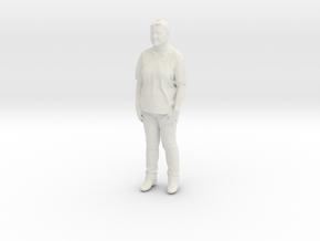 Printle C Femme 195 - 1/64 - wob in White Natural Versatile Plastic
