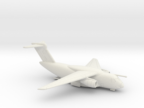 022F KC-390 1/350 WITH OPEN RAMP in White Natural Versatile Plastic