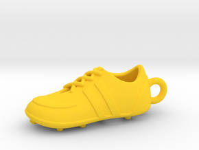 Soccer Shoe 1611051453 in Yellow Strong & Flexible Polished