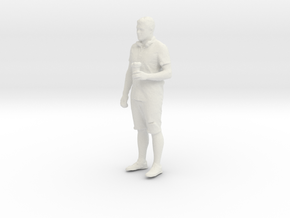 Printle T Homme 091 - 1/64 - wob in White Natural Versatile Plastic