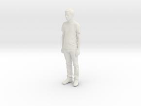 Printle C Homme 105 - 1/64 - wob in White Natural Versatile Plastic