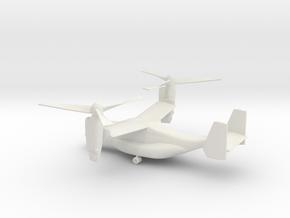 Bell Boeing V-22 Osprey in White Natural Versatile Plastic: 1:144