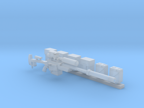 Heavy Laser Sniper with accessories (28mm) in Smooth Fine Detail Plastic