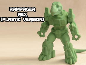 Rampager Rex in Green Processed Versatile Plastic