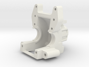 AXIAL YETI / EXO Bulkhead V5 in White Strong & Flexible