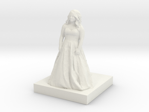 Printle C Femme 113 - 1/35 in White Strong & Flexible