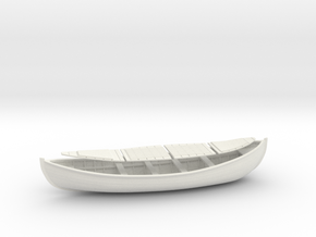 1/32 USLSS 26' Monomoy Pulling Surf Boat Set in White Natural Versatile Plastic
