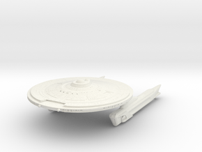 Starfire Class  ScoutDestroyer in White Natural Versatile Plastic