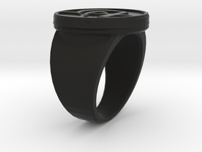 KravRing in Black Natural Versatile Plastic