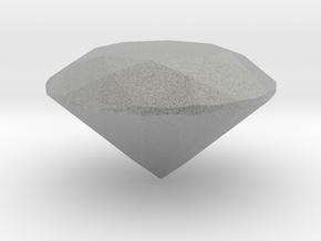 Diamond 8 Mm in Metallic Plastic