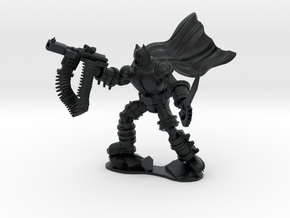 The Dark Knight in Armor in Black Hi-Def Acrylate