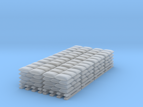 Sandbag Stack - Set of 8 - Zscale in Frosted Ultra Detail