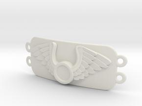 Journeyer Bracelet_ Cadiaan   in White Natural Versatile Plastic