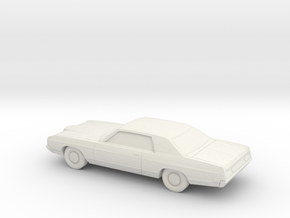 1/87 1971/72 Ford LTD Coupe in White Strong & Flexible