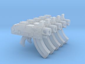 Angry Marines Mk87 Thunderbolt Pistols in Smooth Fine Detail Plastic