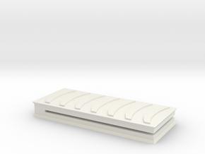 MoneyClip in White Natural Versatile Plastic