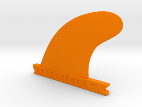 TinyFins Sweep 4,5 fu in Orange Strong & Flexible Polished