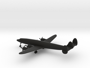 Lockheed L-1049 Super Constellation in Black Natural Versatile Plastic: 1:350