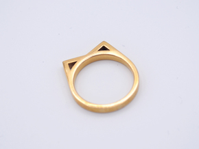• b l o u •  Ring - Volume 2 - #2 in Polished Bronze: 7.5 / 55.5