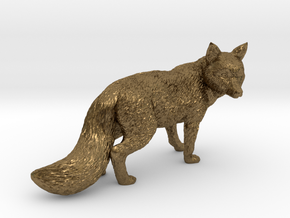 Fox in Natural Bronze